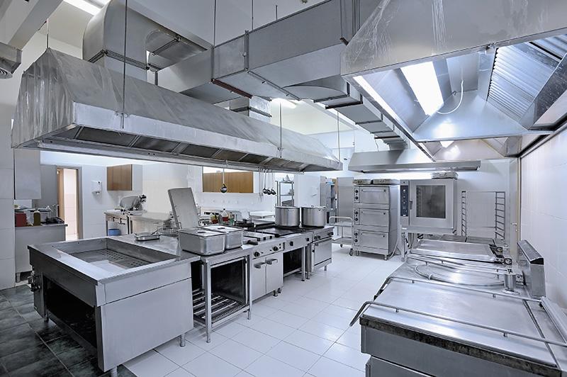 Cleaning Kitchen Exhaust Hoods