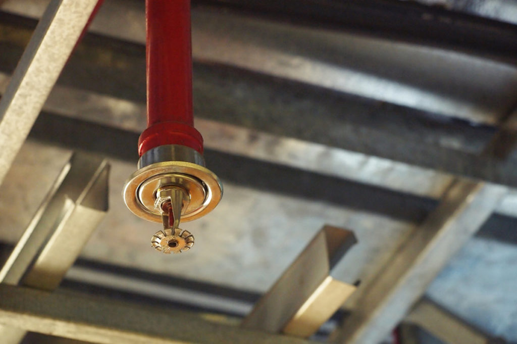 Fire suppression systems for commercial kitchens.