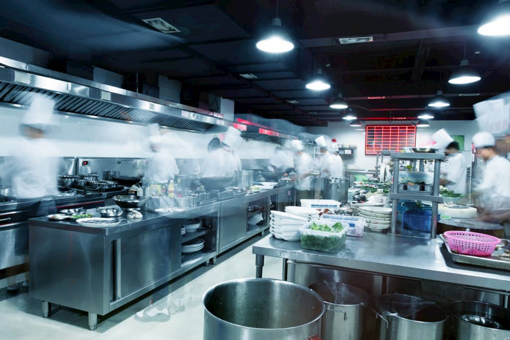 Bare Metal Standard Commercial Kitchen Exhaust Hood Cleaning Services