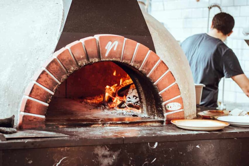 Pizza Oven Cleaning