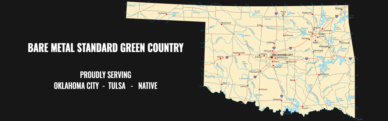Green Country Map
